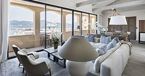 Saint Trop interior design